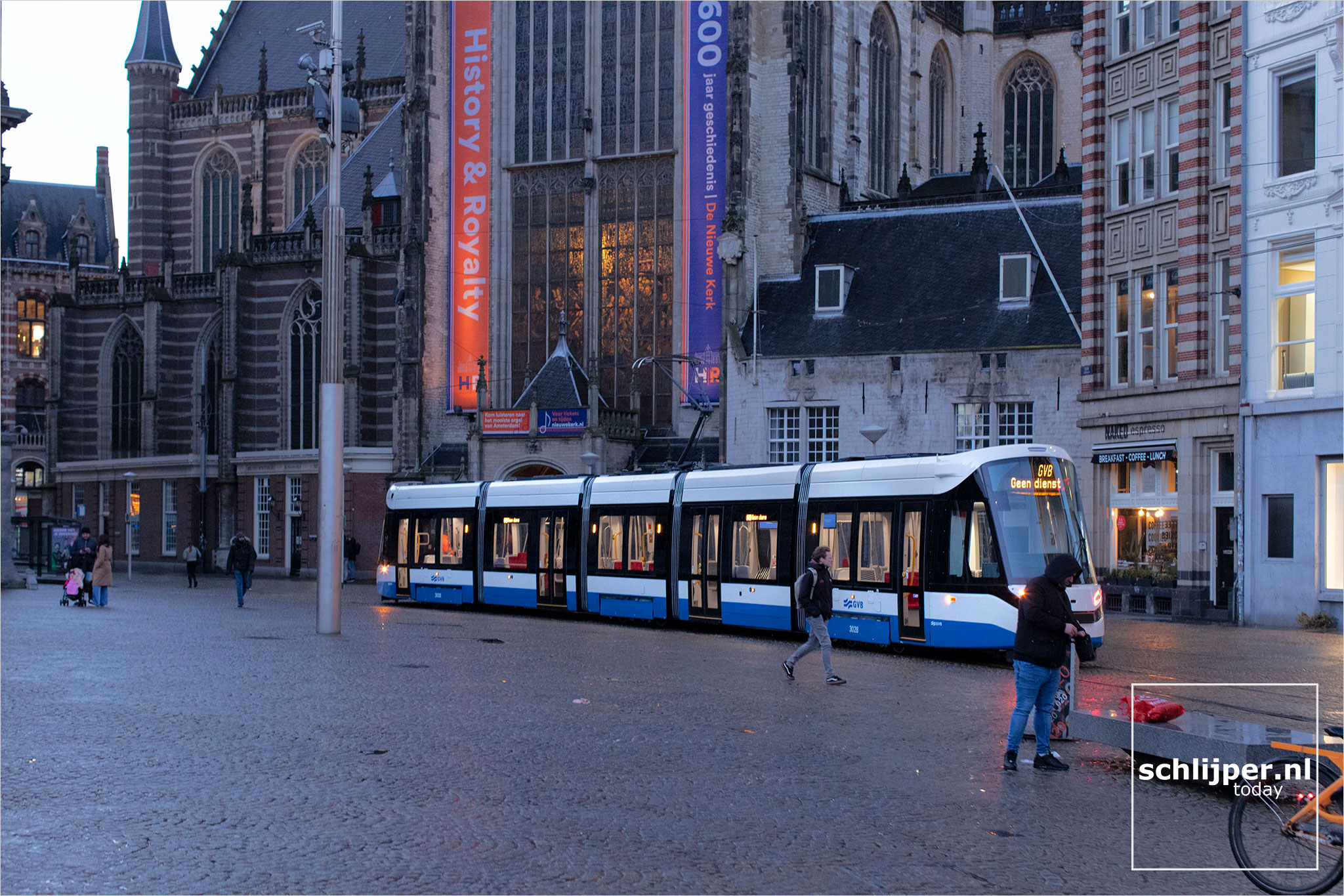 The Netherlands, Amsterdam, 12 januari 2021