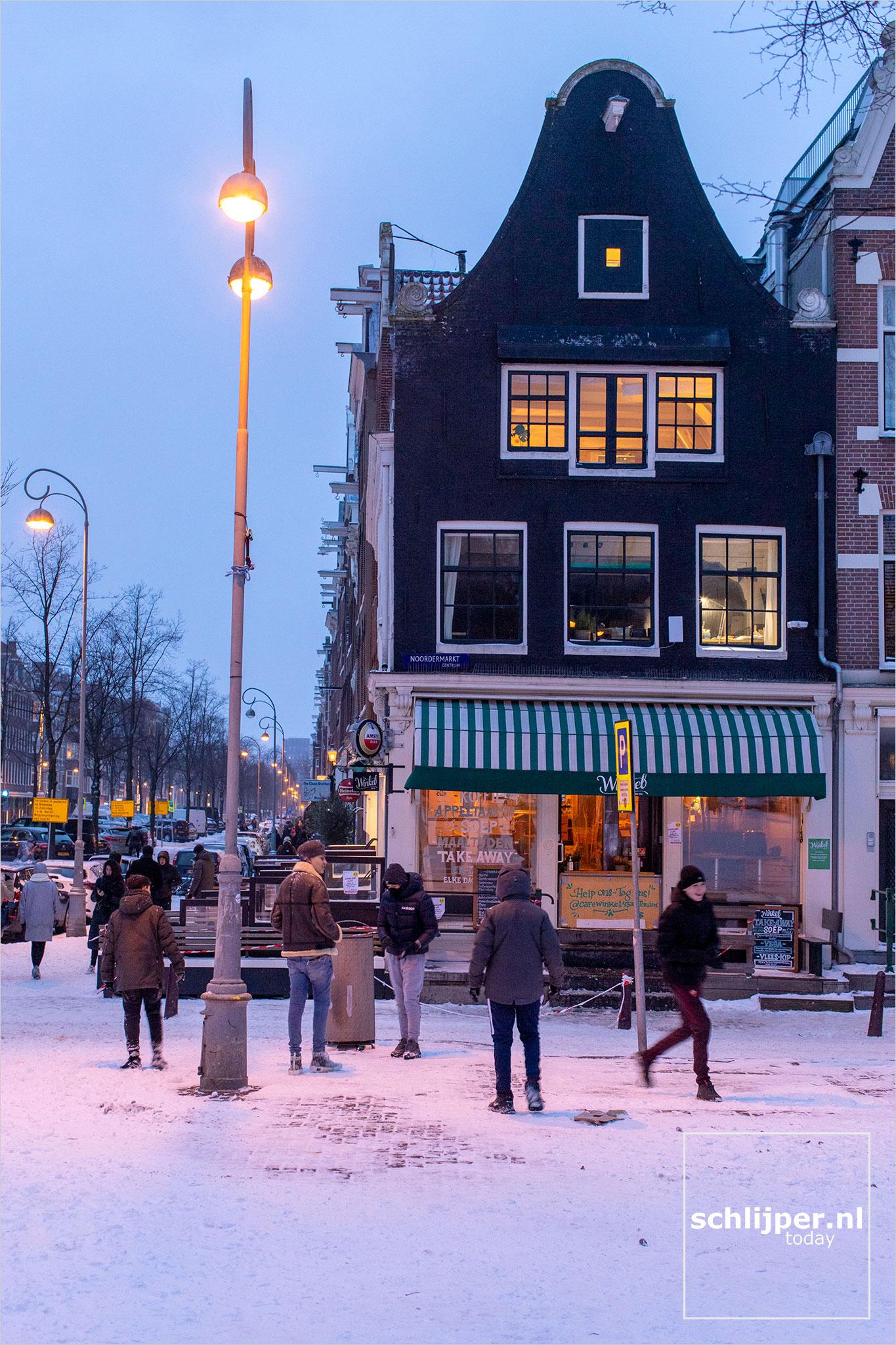 The Netherlands, Amsterdam, 8 februari 2021