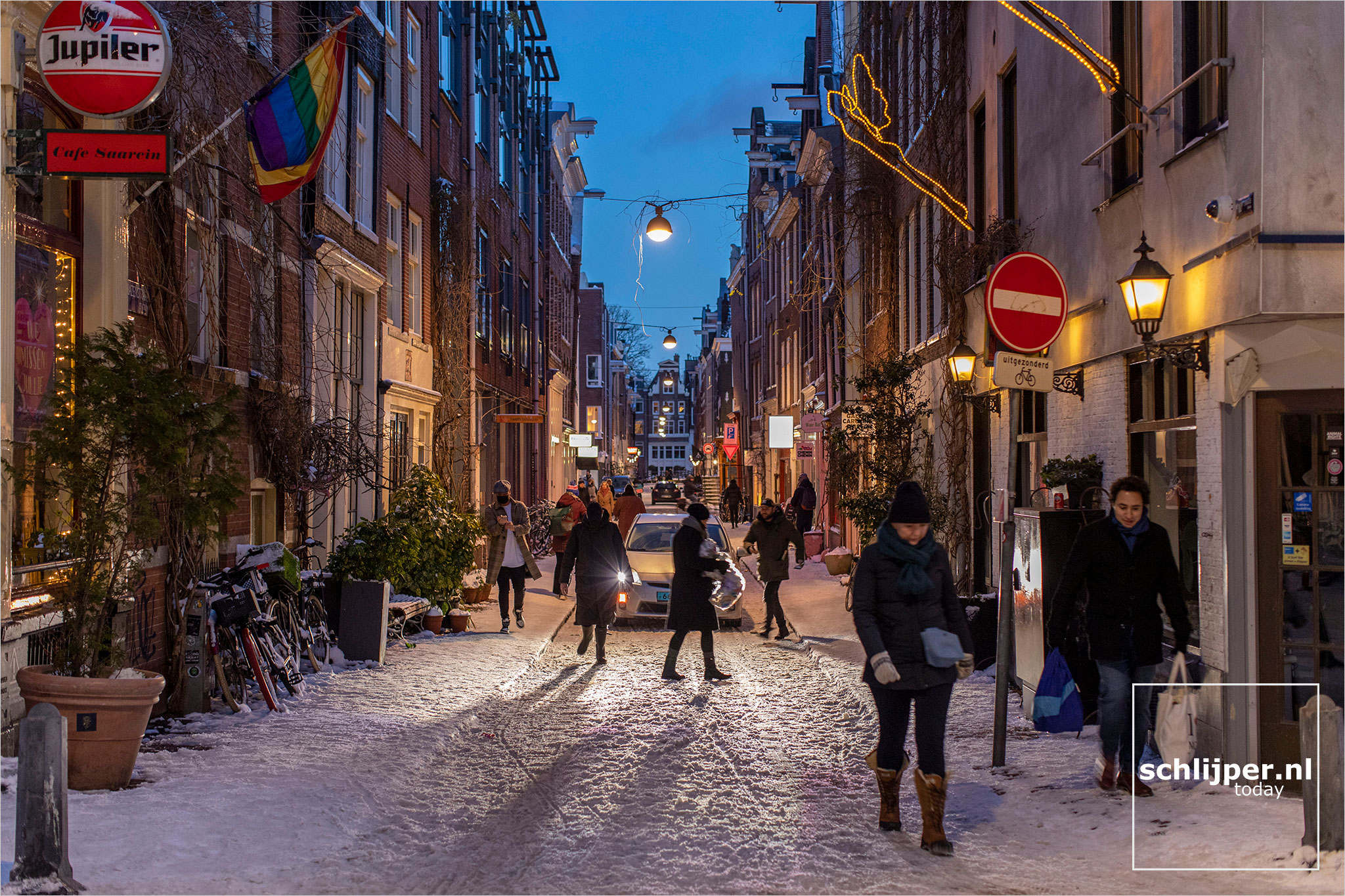 The Netherlands, Amsterdam, 9 februari 2021