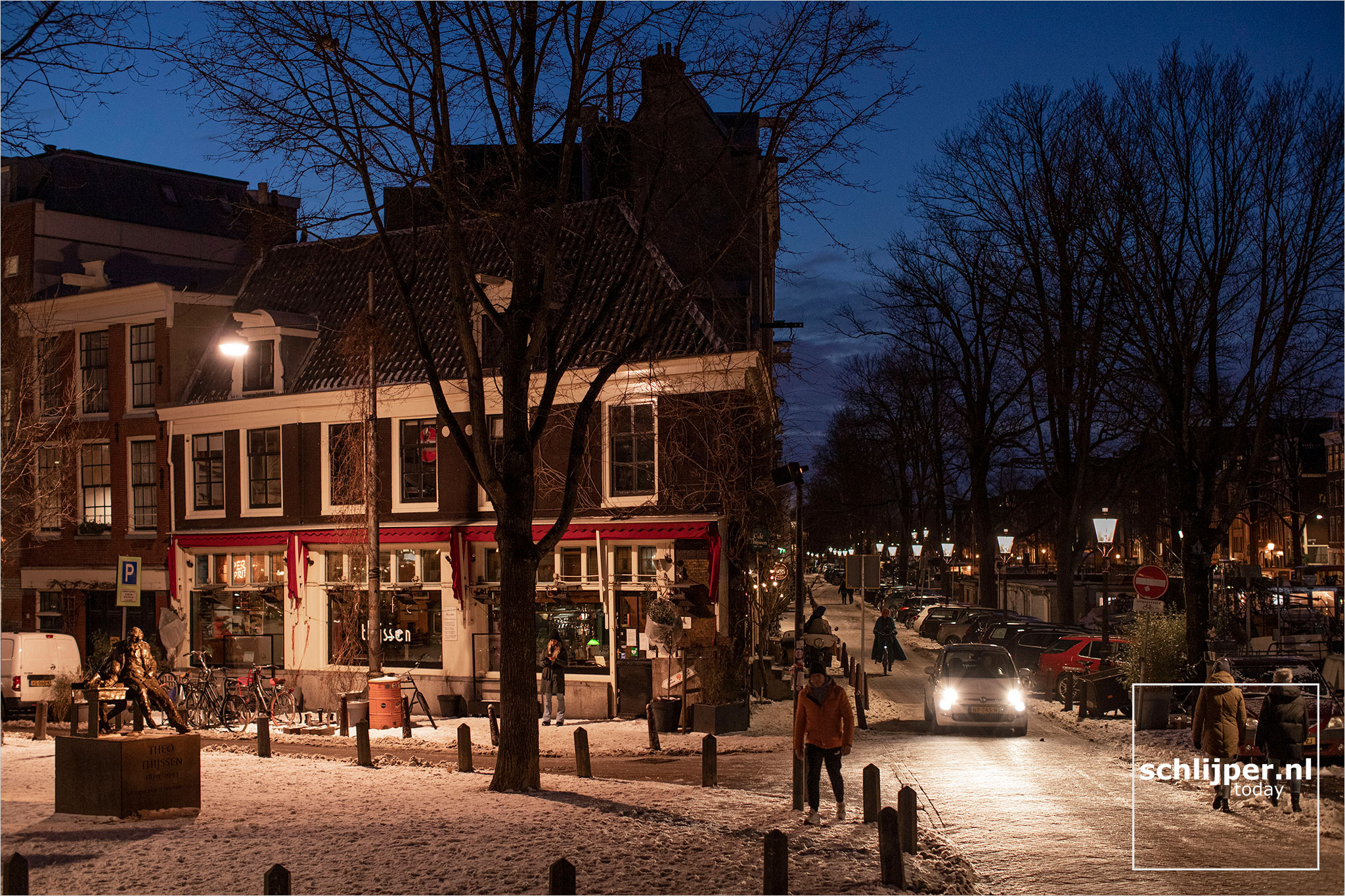 The Netherlands, Amsterdam, 10 februari 2021