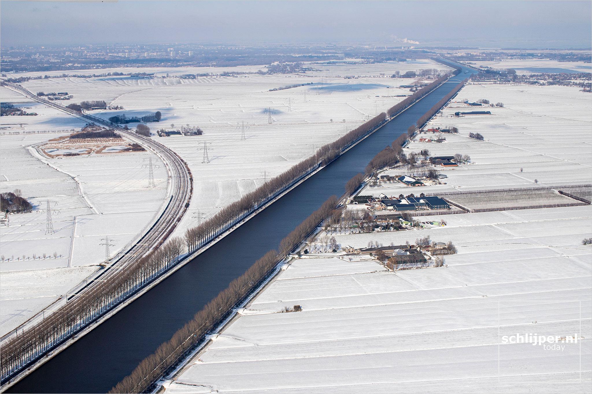 The Netherlands, Baambrugge, Vreeland, 12 februari 2021