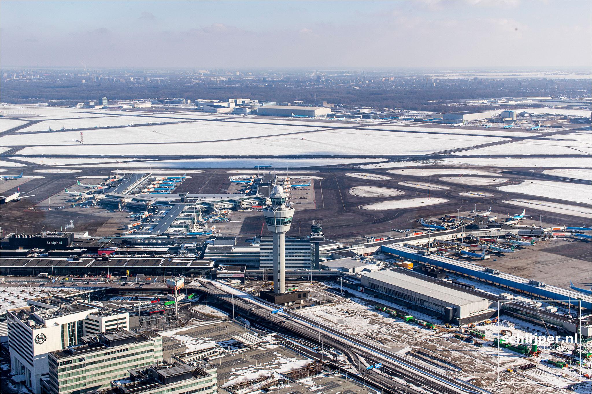 The Netherlands, Schiphol, 12 februari 2021