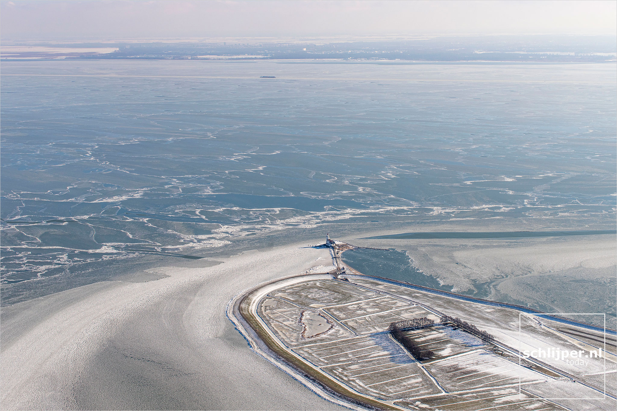 The Netherlands, Marken, 12 februari 2021