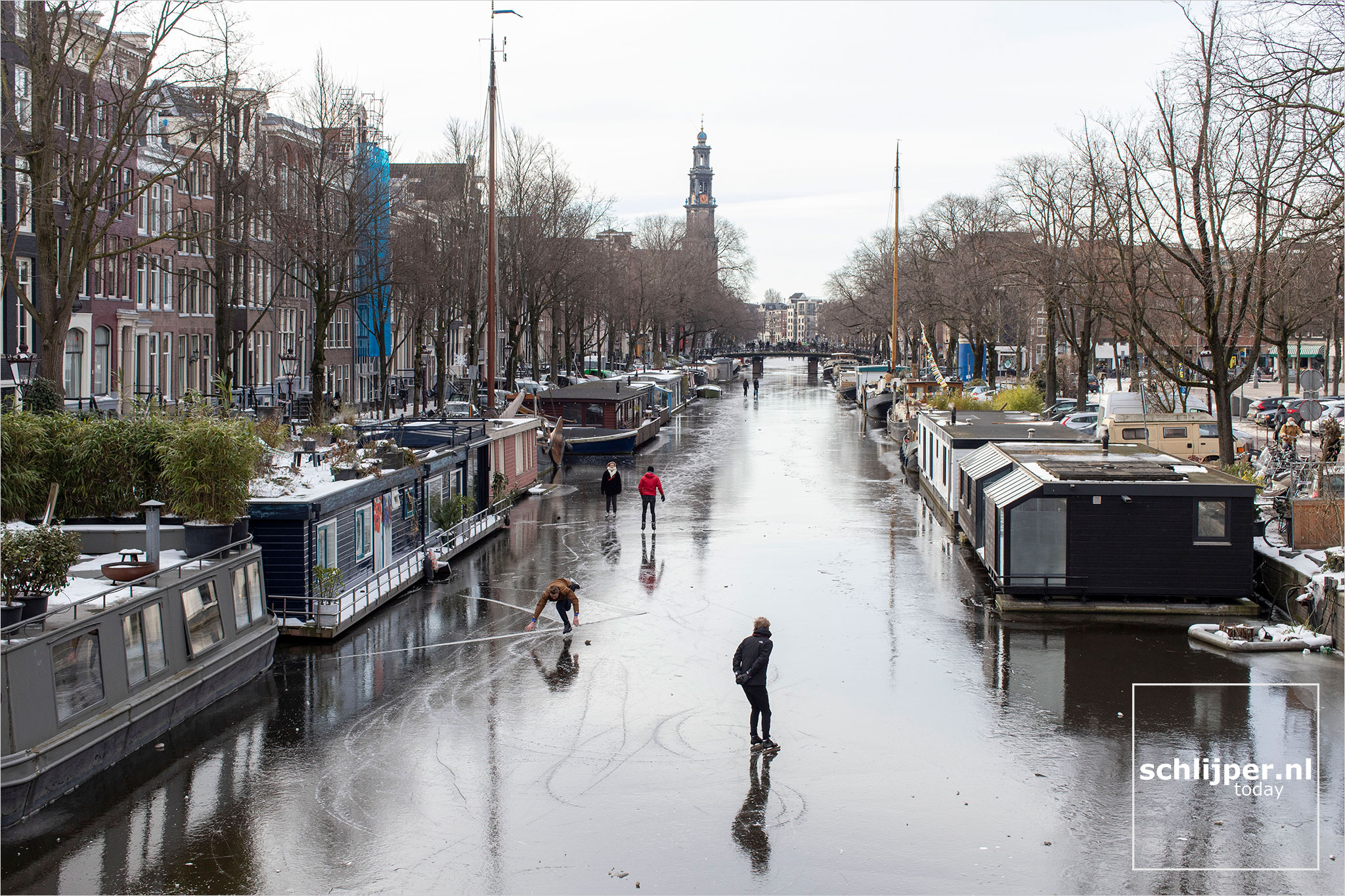 The Netherlands, Amsterdam, 14 februari 2021