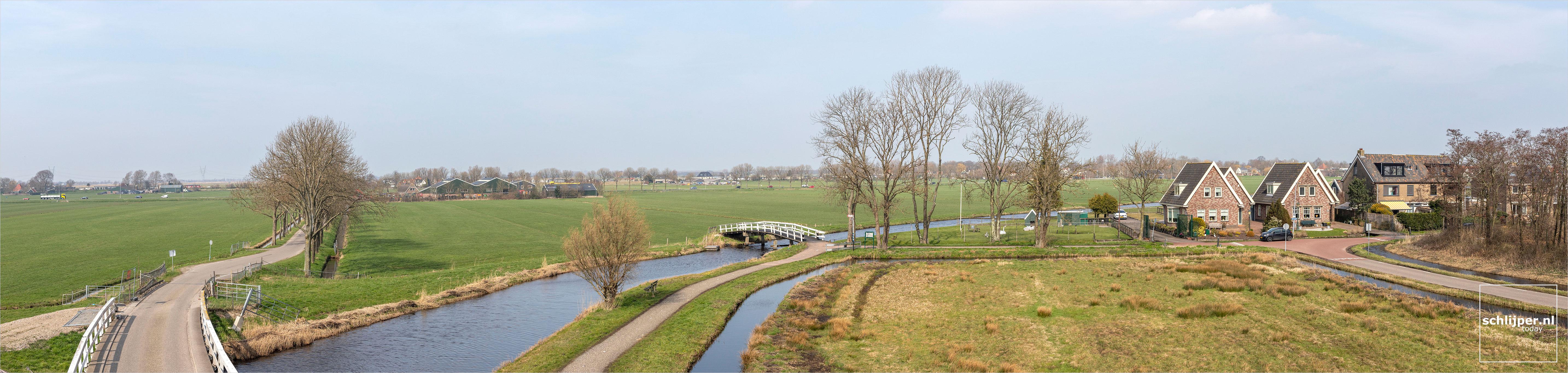 The Netherlands, Broek in Waterland, 24 maart 2021