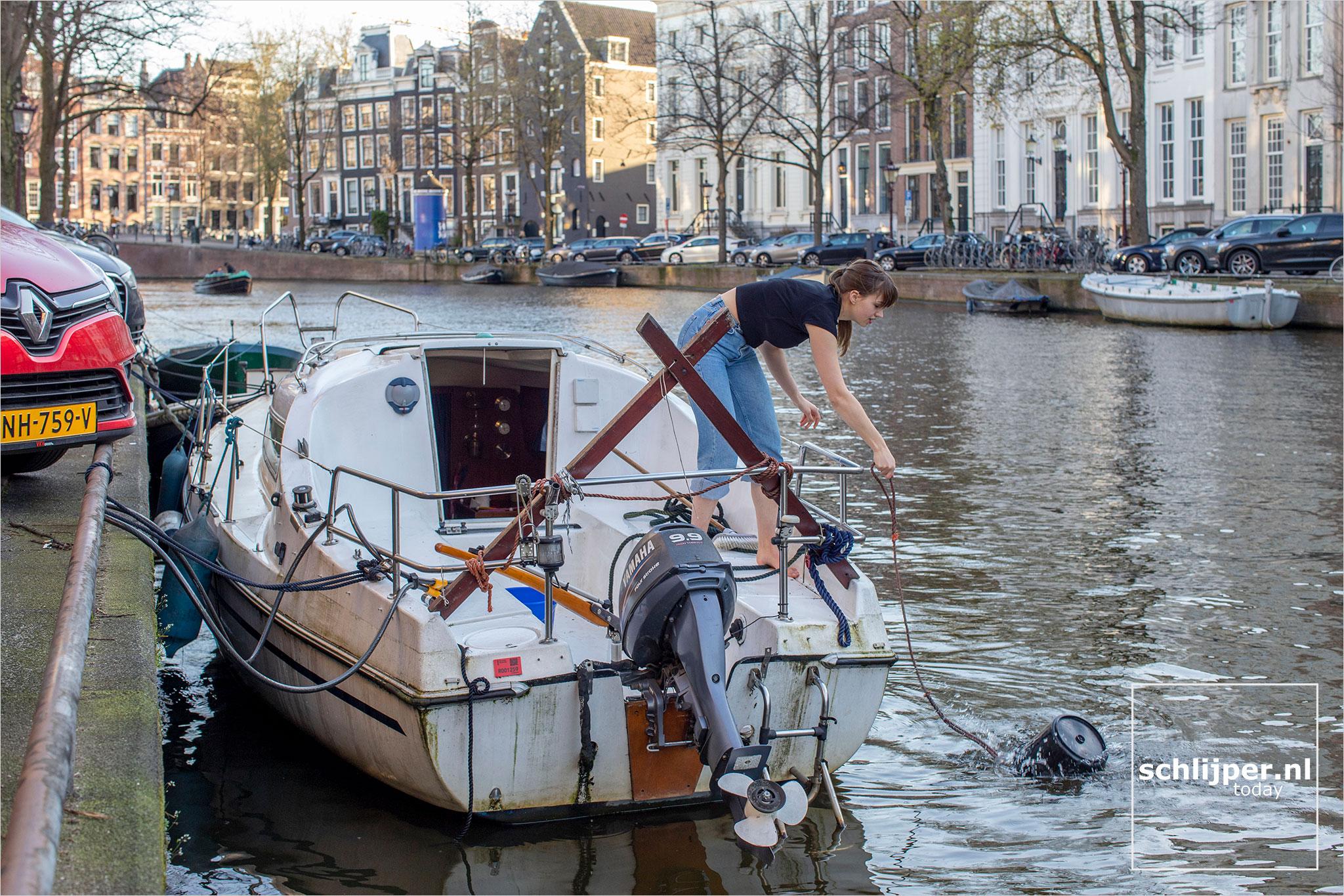 The Netherlands, Amsterdam, 29 maart 2021