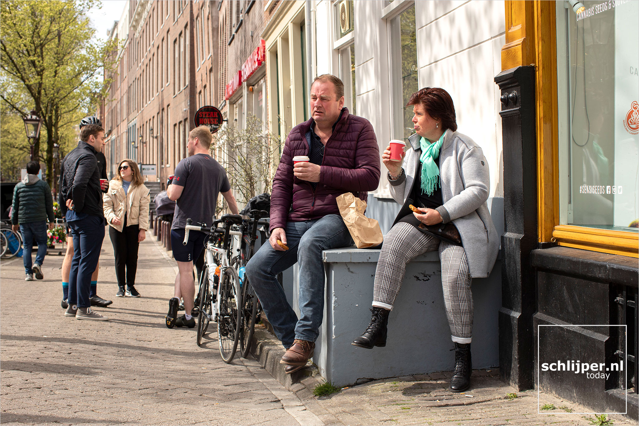 The Netherlands, Amsterdam, 21 april 2021