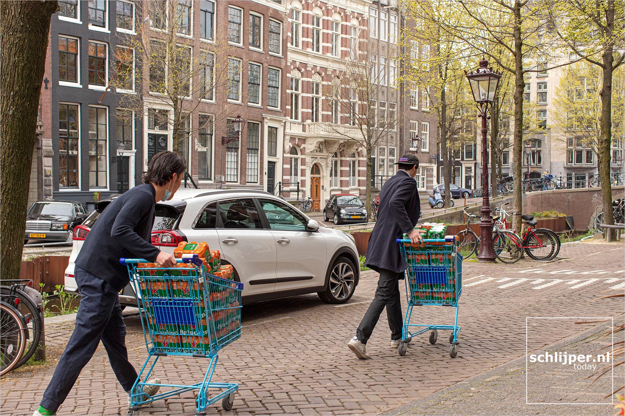 The Netherlands, Amsterdam, 24 april 2021