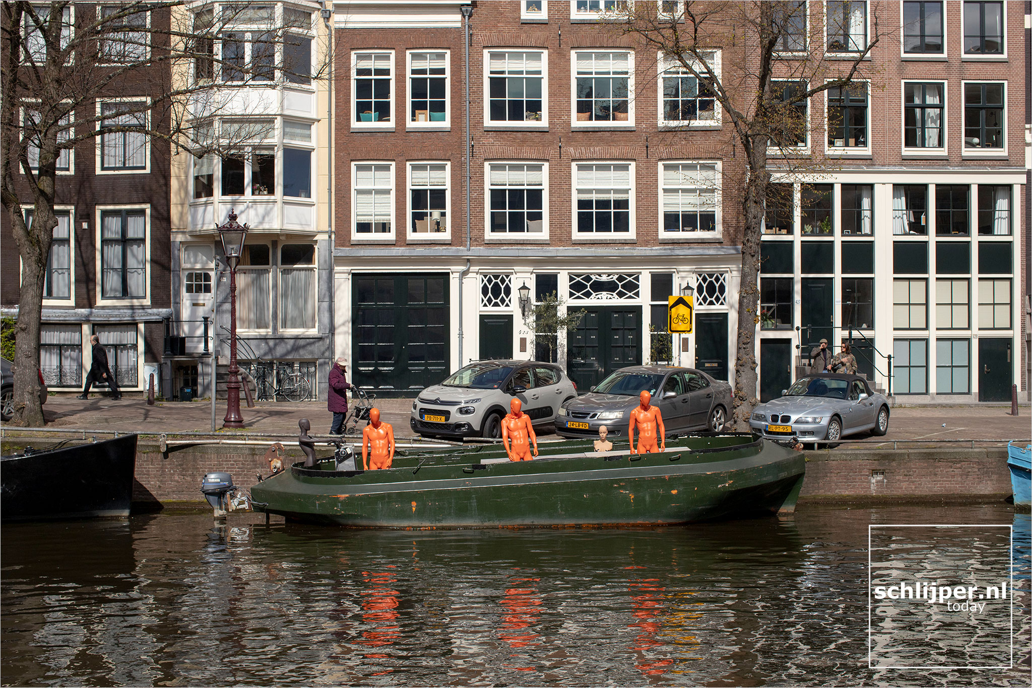 The Netherlands, Amsterdam, 25 april 2021