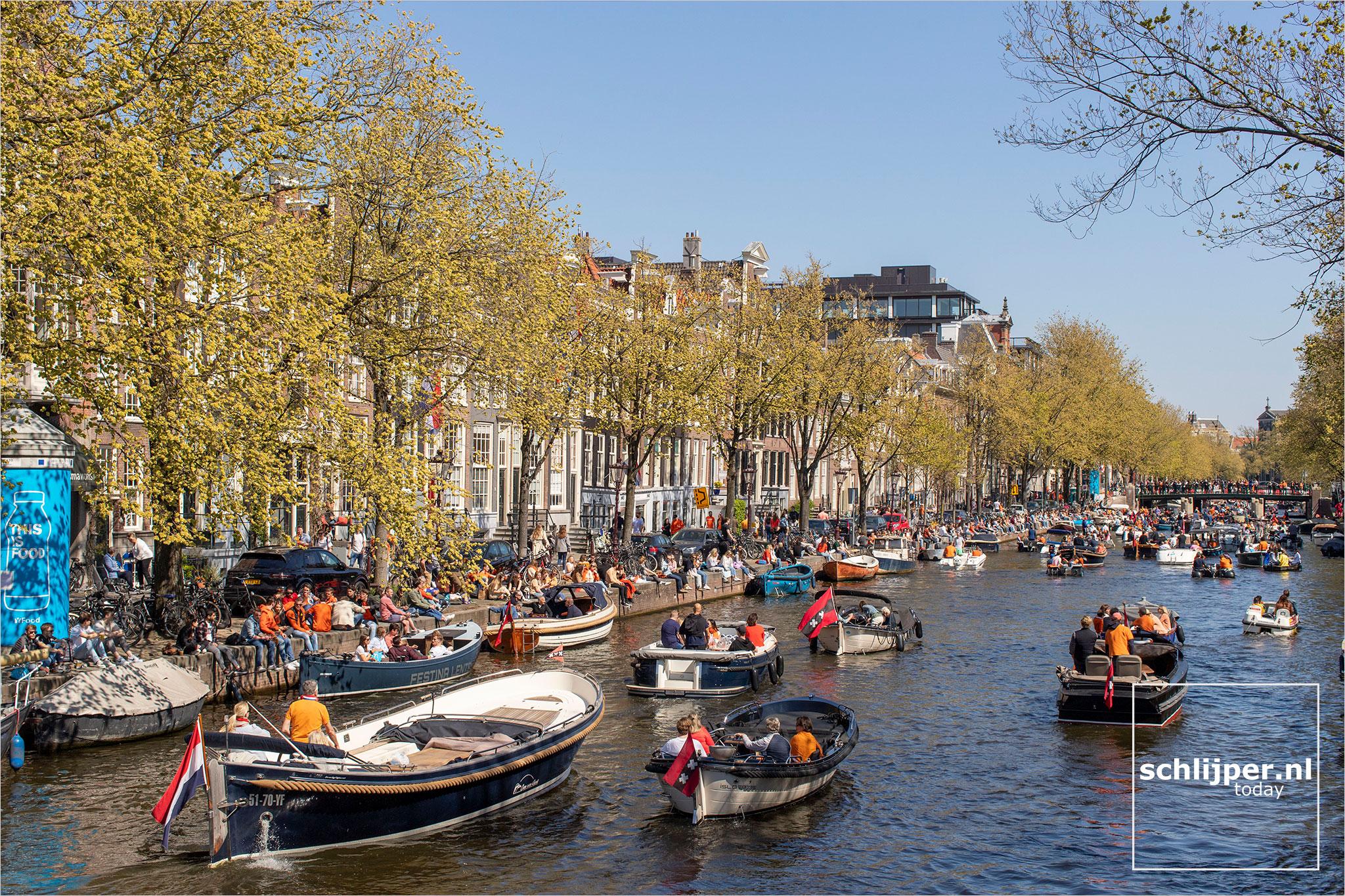 The Netherlands, Amsterdam, 27 april 2021