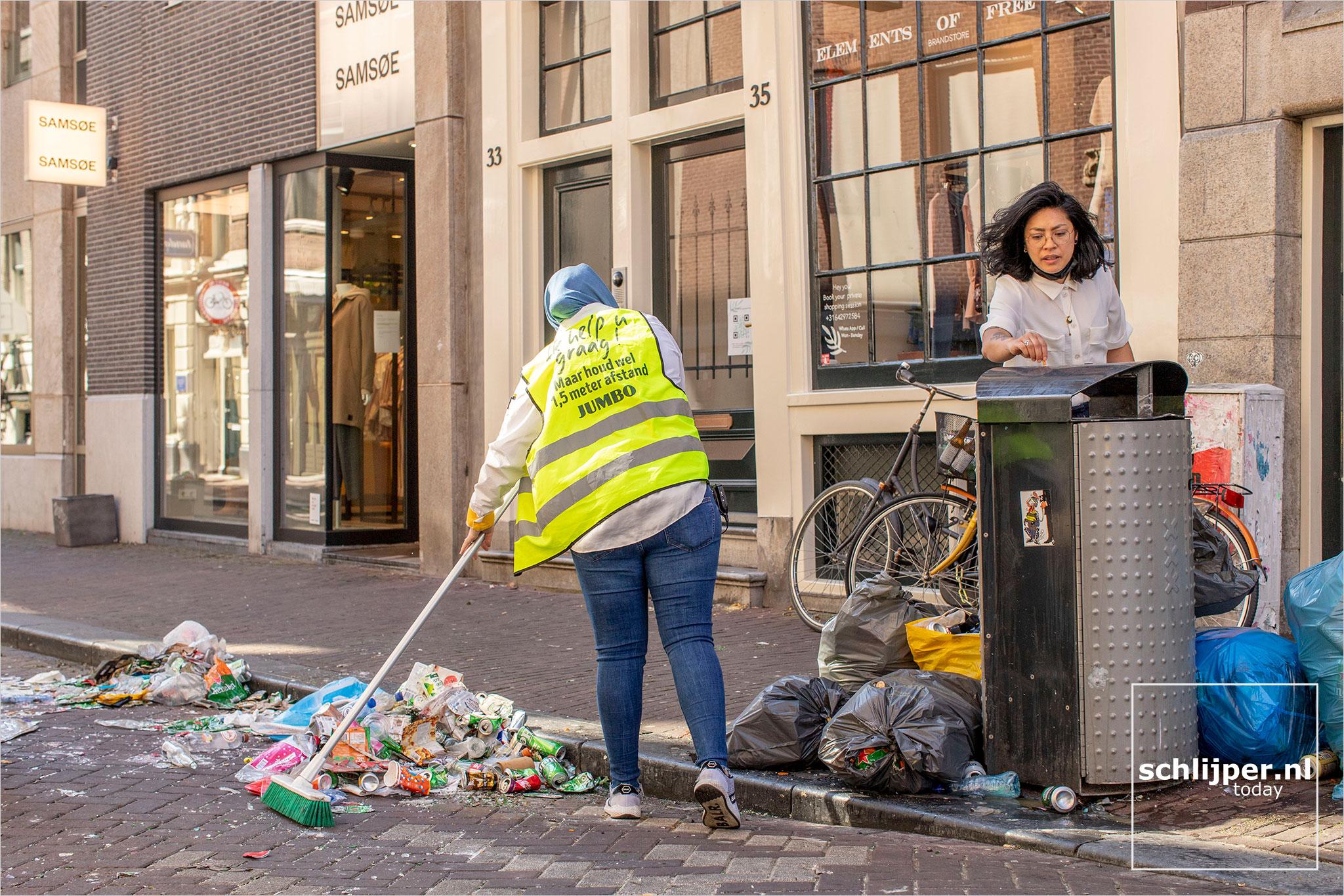 The Netherlands, Amsterdam, 28 april 2021