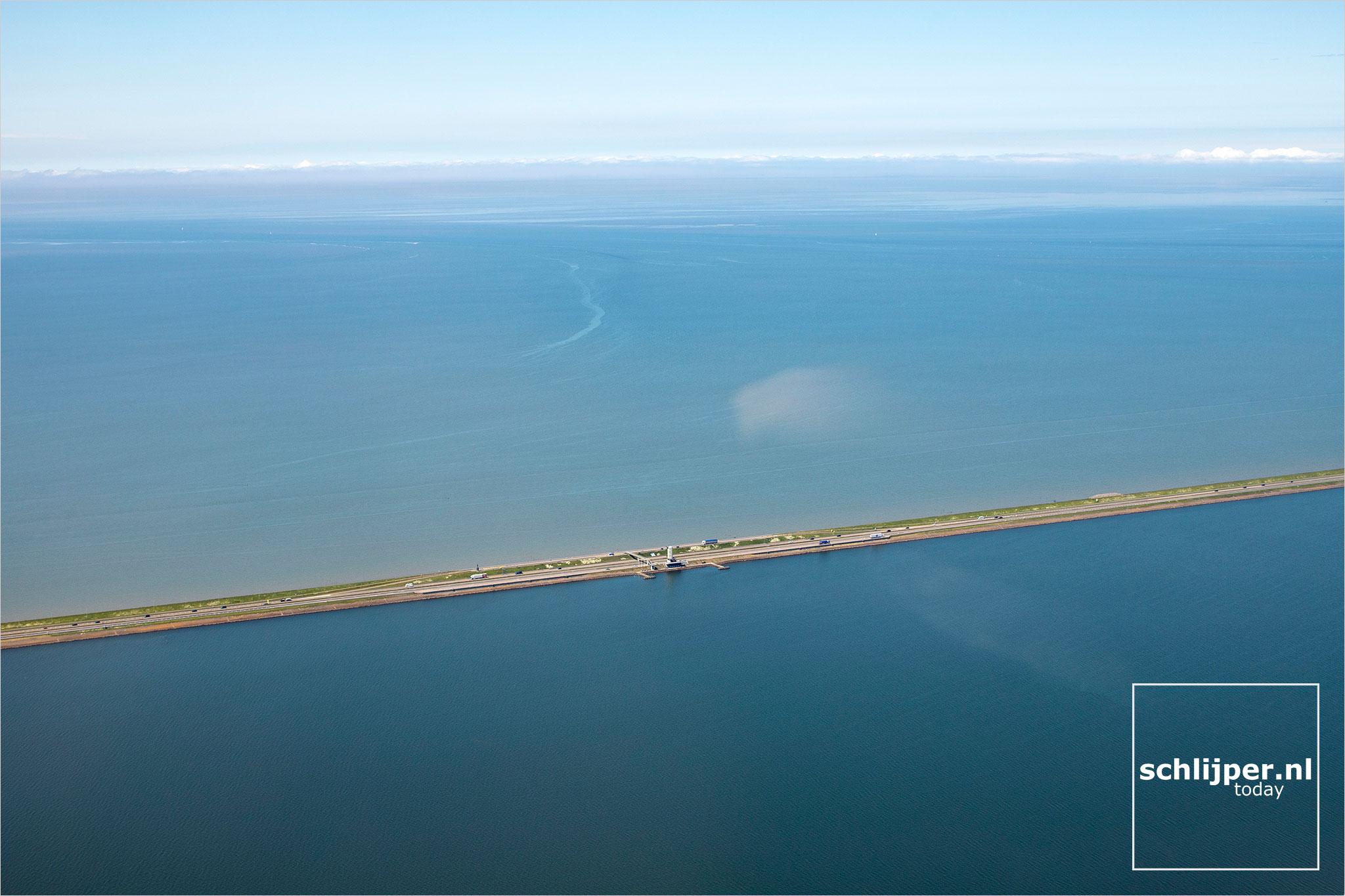 The Netherlands, Afsluitdijk, 28 mei 2021