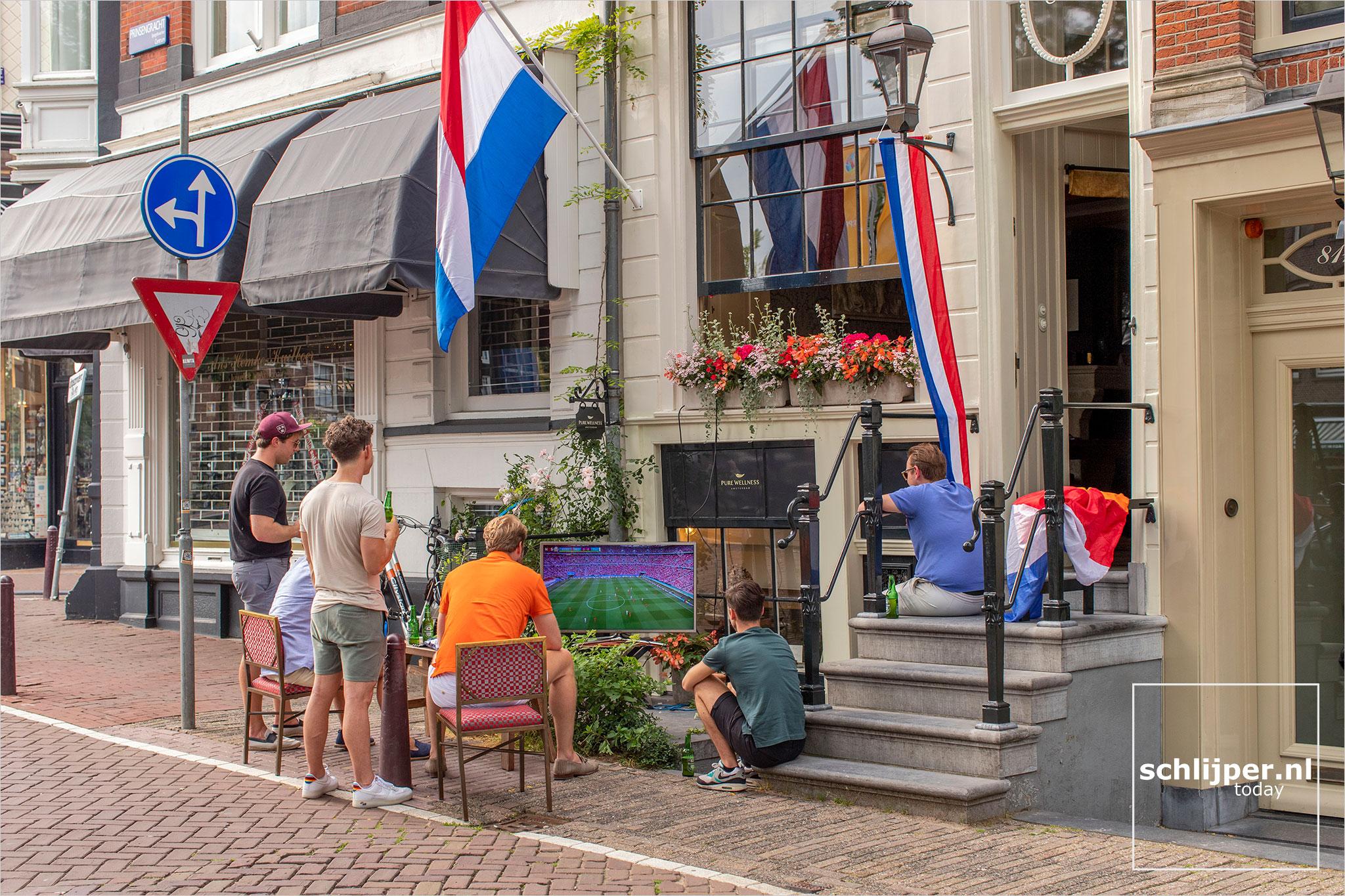 The Netherlands, Amsterdam, 27 juni 2021