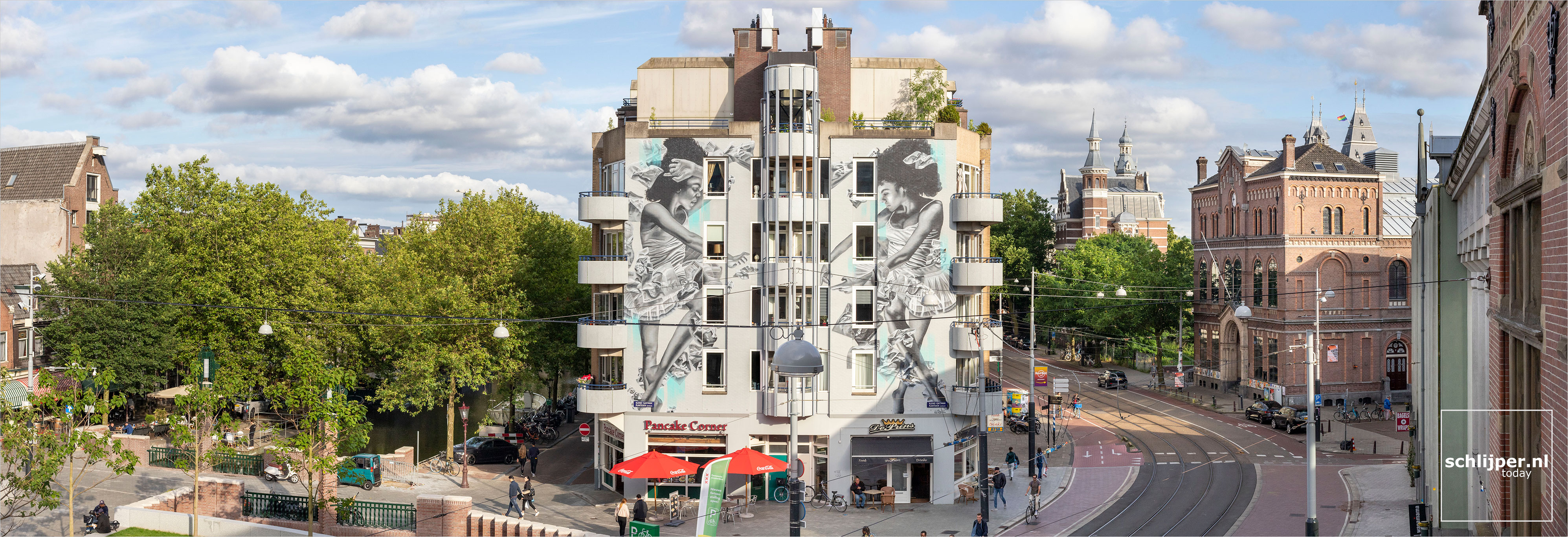 The Netherlands, Amsterdam, 1 augustus 2021