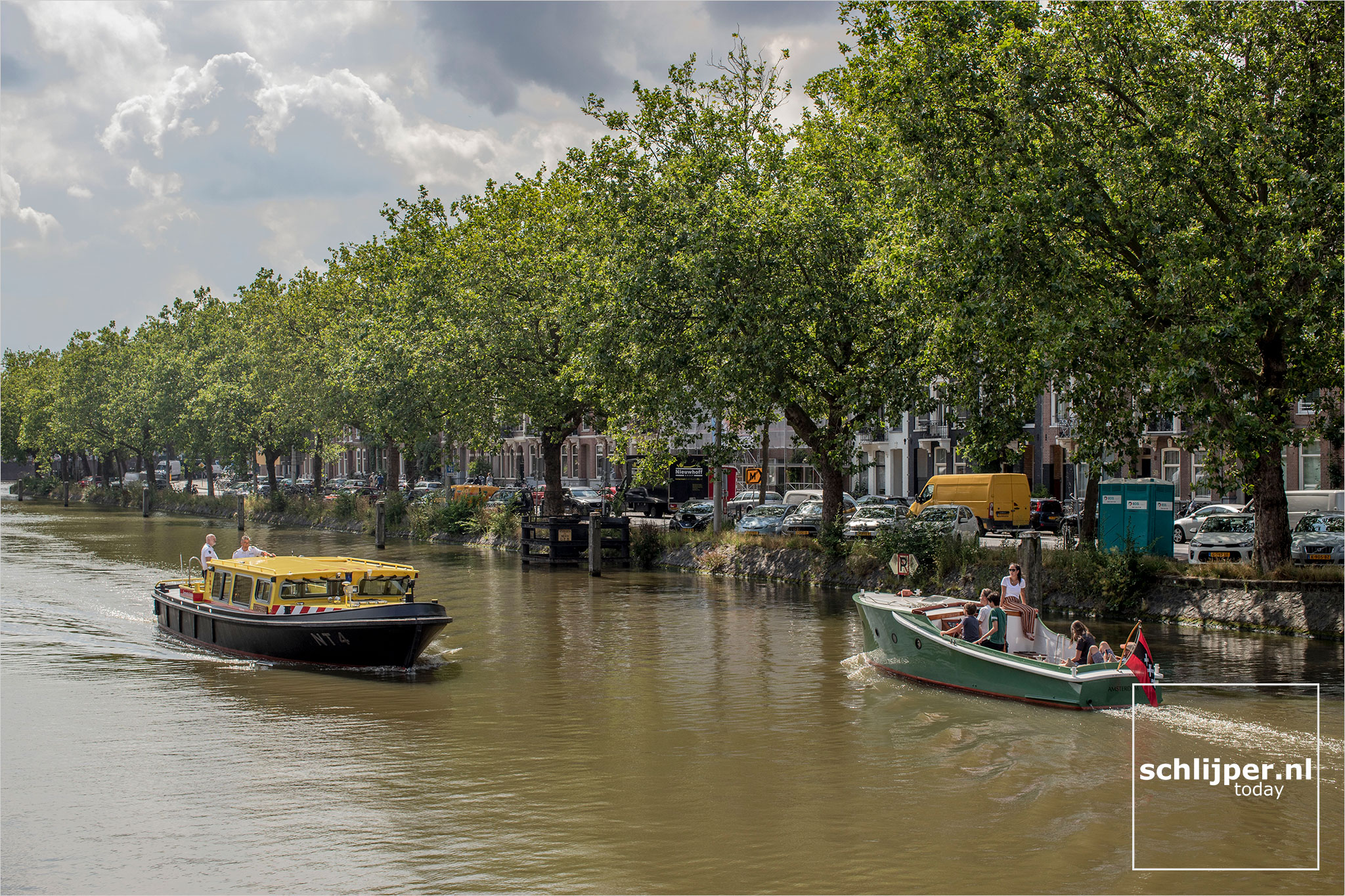 The Netherlands, Amsterdam, 4augustus 2021