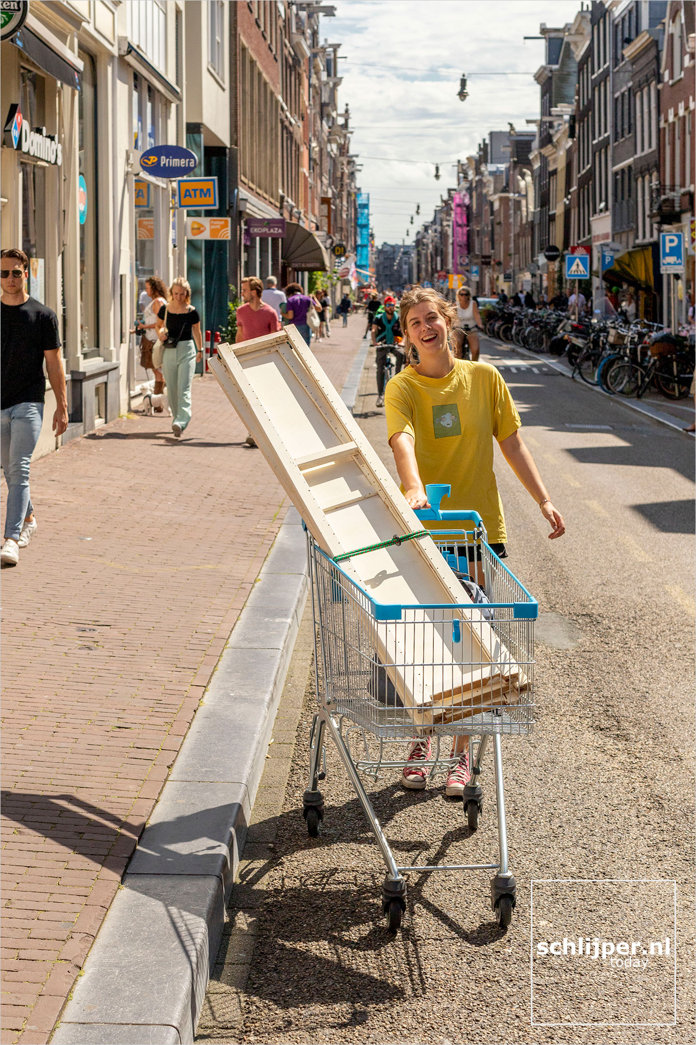 The Netherlands, Amsterdam, 15 augustus 2021