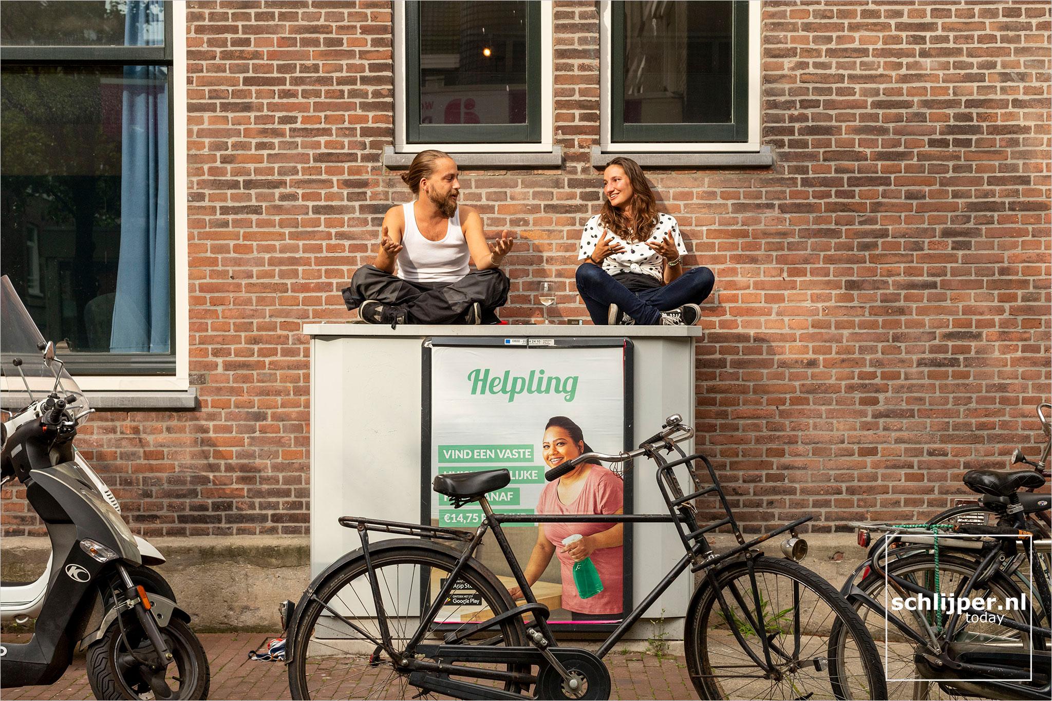The Netherlands, Amsterdam, 20 augustus 2021