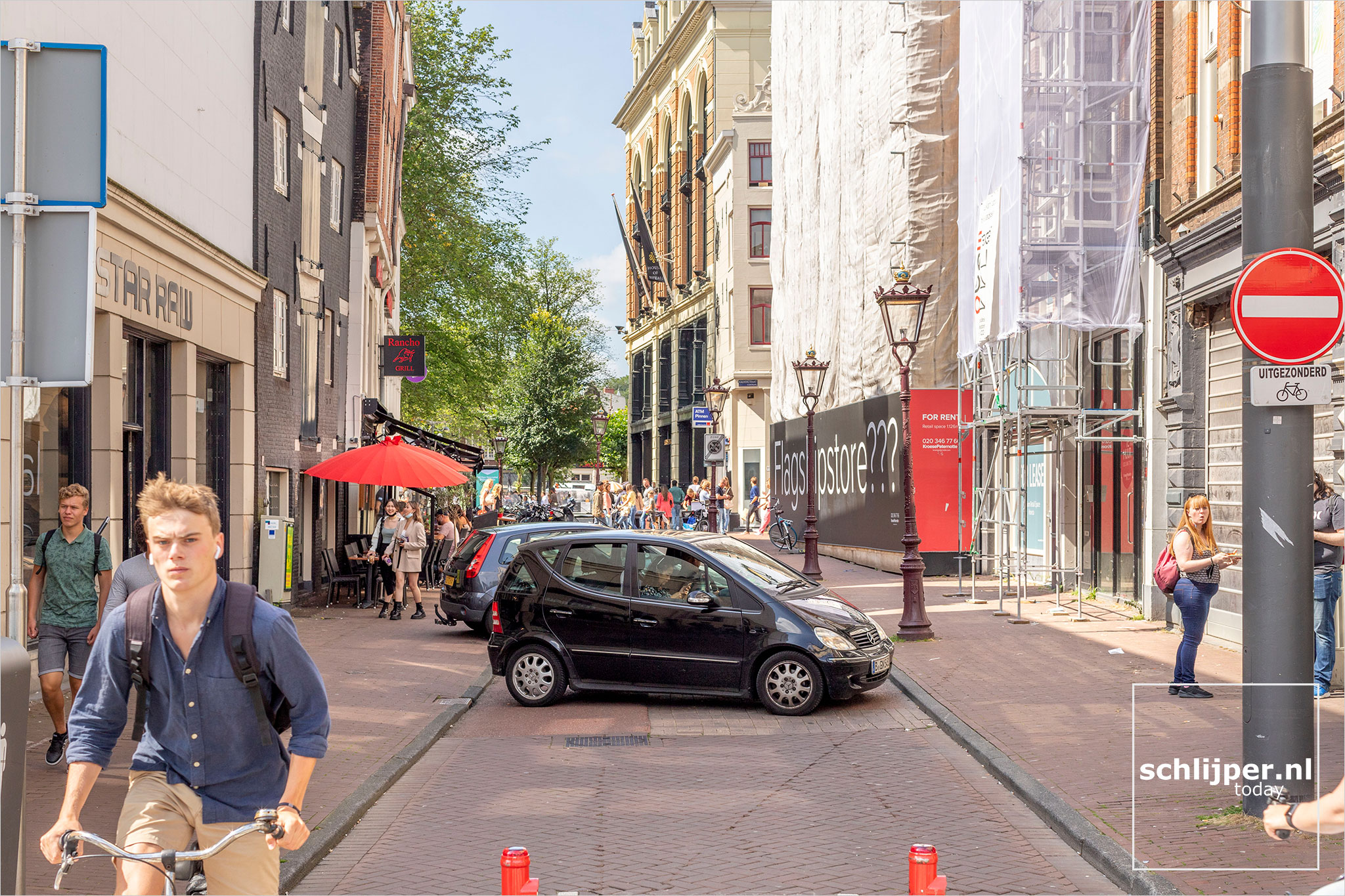 The Netherlands, Amsterdam, 24 augustus 2021