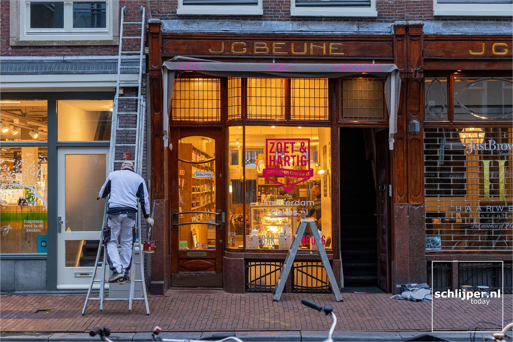 The Netherlands, Amsterdam, 14 oktober 2021
