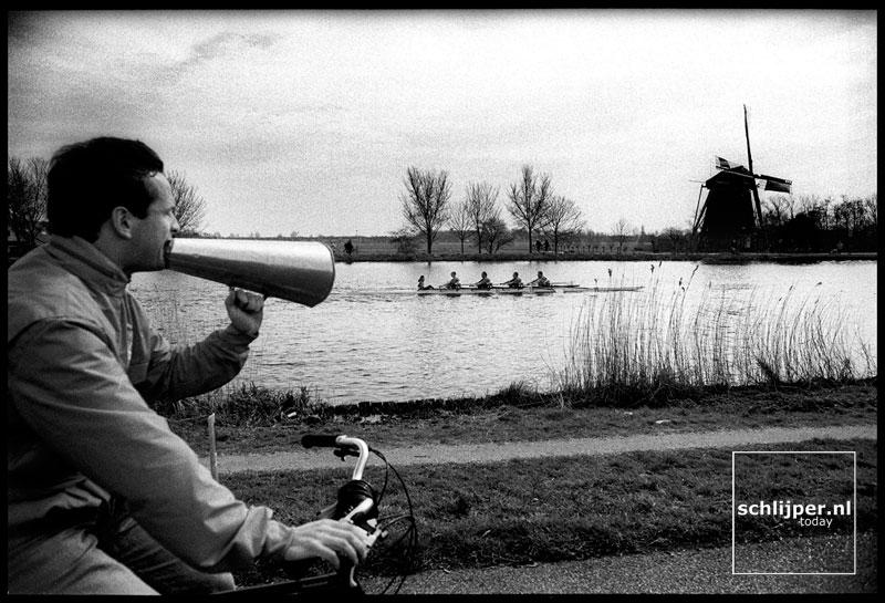 Nederland, Ouderkerk aan de Amstel, 29 maart 1998