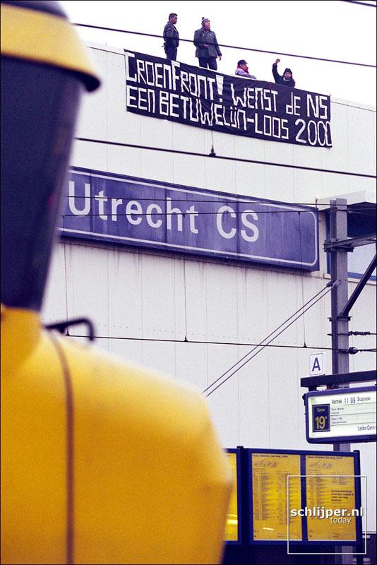 Nederland, Utrecht, 31 december 1999